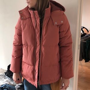 56a7ed8126b Madewell Quilted Down Puffer Parka Coat